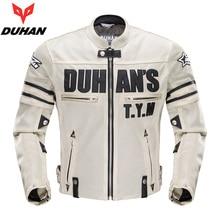 Moto DUHAN Motosiklet erkek Yaz Örgü Oxford Bez Ceket Giyim Motocross Off-Road Yarış Koruma Ceket & Pantolon M-2XL Siyah