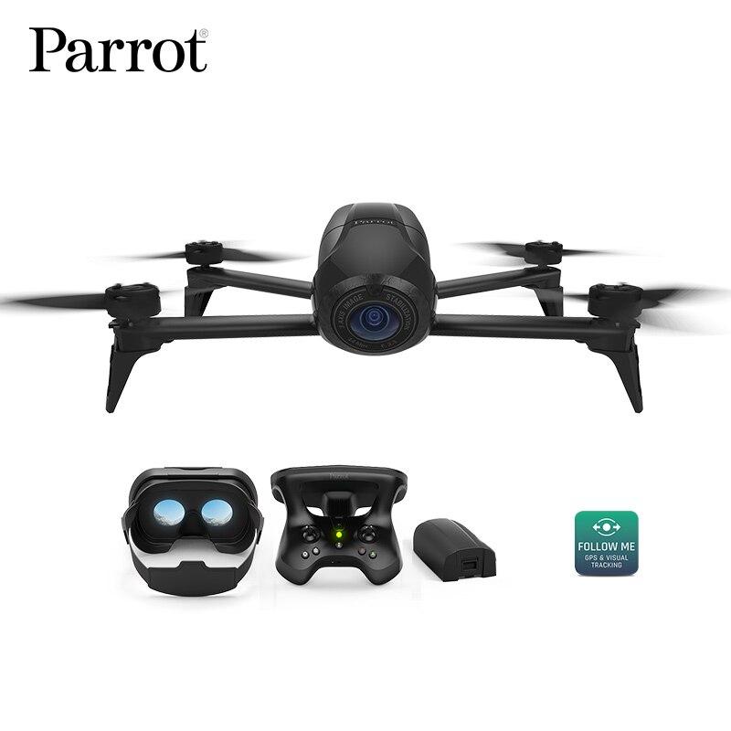 Drone 4 k Pappagallo Bebop 2 di Alimentazione FPV Drone con la Macchina Fotografica HD Quadrupter 4 k Fino a 25 Minuti di tempo di volo, occhiali occhiali FPV Quadcopter