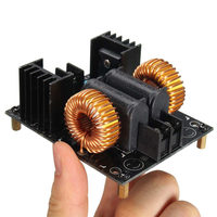 1PC New Arrival 20A 1000W ZVS Low Voltage Induction Heating Board Module Flyback Driver Heater New