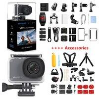 AKASO V50 Pro SE Экшн-камера с сенсорным экраном Спортивная камера для доступа специальная версия 4K Водонепроницаемая камера WiFi Пульт дистанционн...