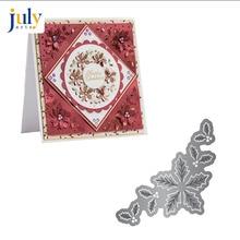Julyarts 3D Spring Flower Cutting Dies Metal Stencils DIY Scrapbooking Photo Album Leaves Nouveau Arrivage