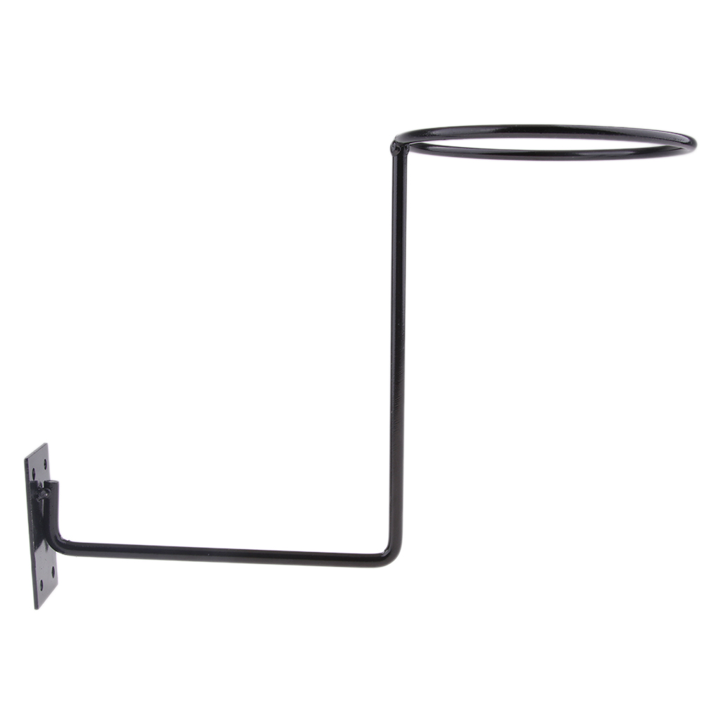 Aluminum Motorcycle Accessories Helmet Holder Hanger Rack Wall Mounted Hook for Coats Hats Caps Helmet Rack Black