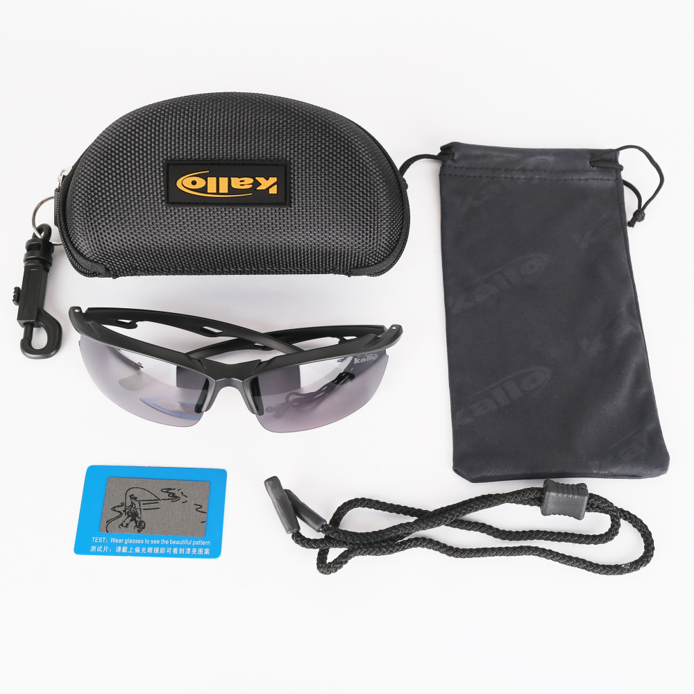 Купить с кэшбэком Ossat Pc Polarized Designer Fashion Sports Sunglasses for Baseball Cycling Fishing Golf TR90 Superlight Frame