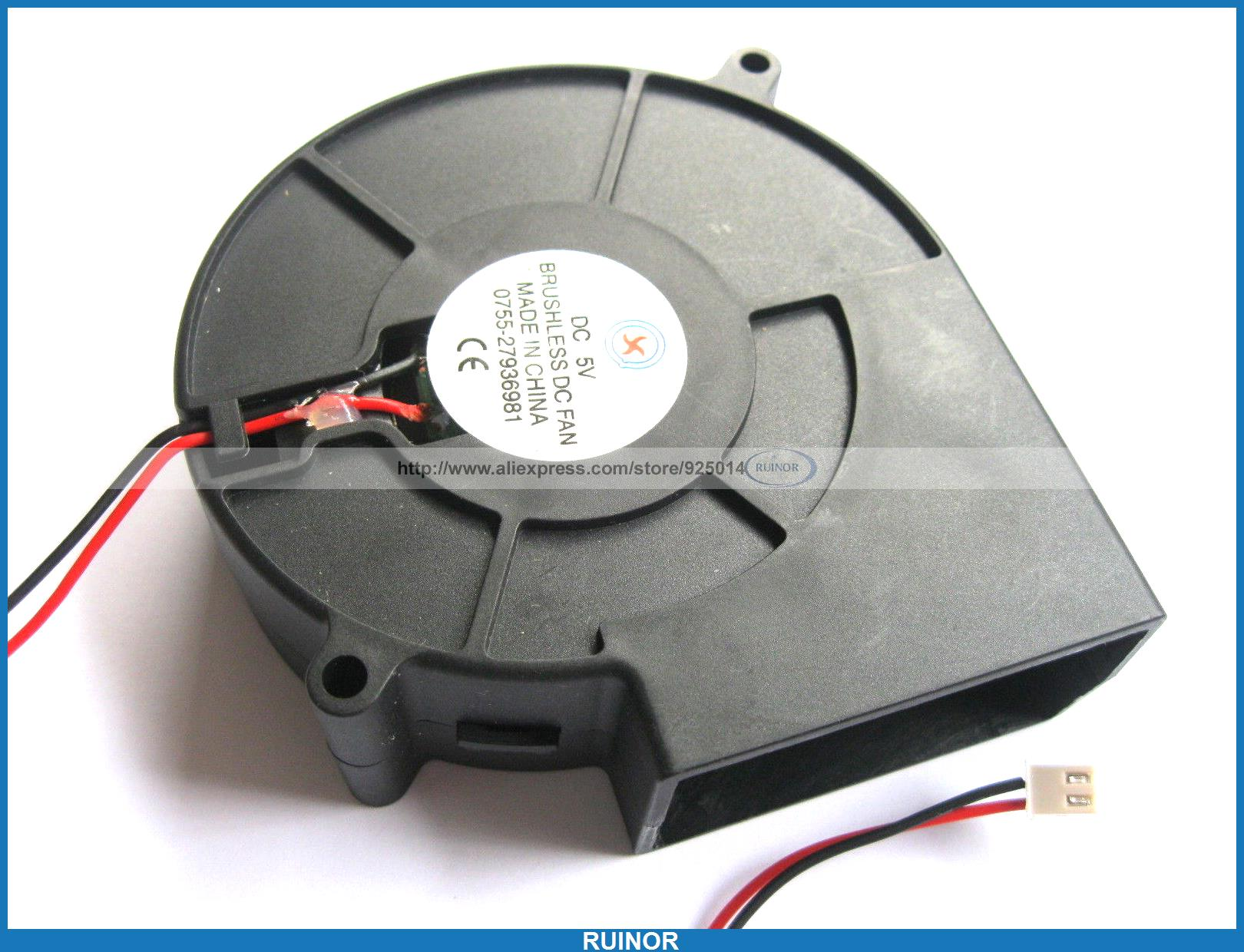 ФОТО 4 x Brushless DC Cooling Blower Fan 9733S 5V 9733s 2pin
