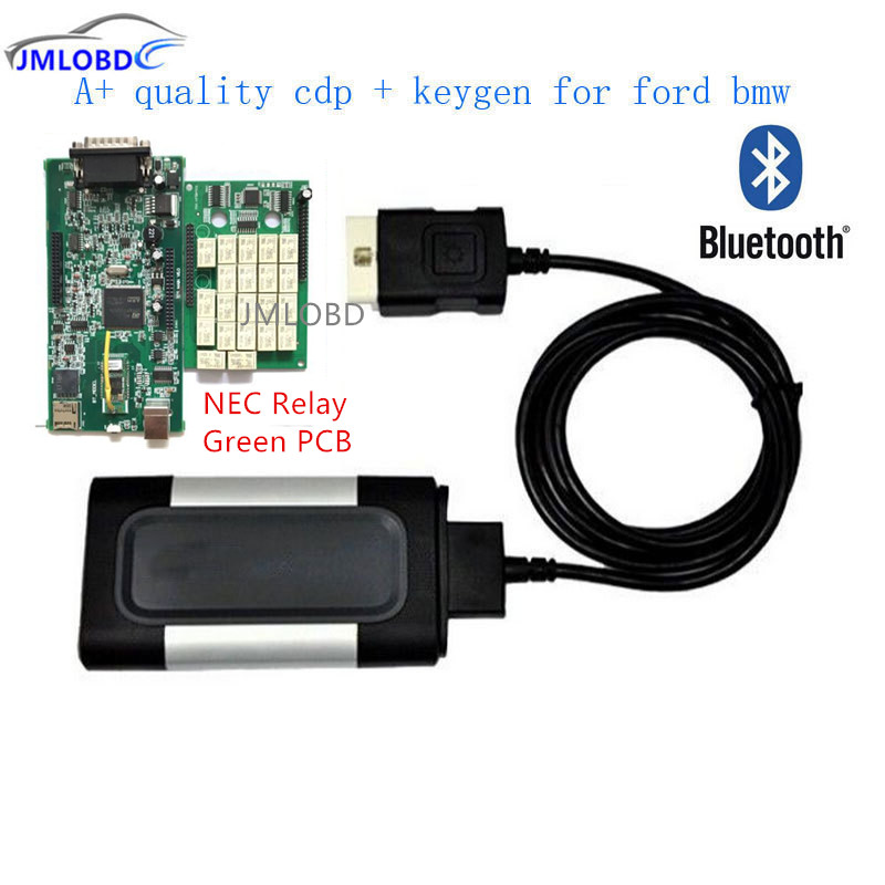 New Green board quality A 2015 R3 with key For autocom CDP Pro Plus with bluetooth OBD2 Scanner car Diagnostic Tool