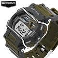 SANDA Marca De Lujo Para Hombre Relojes Deportivos de Buceo 30 m Electrónica Digital LED Reloj de Los Hombres de Moda Casual Relojes de Pulsera Militar Reloj de Los Hombres