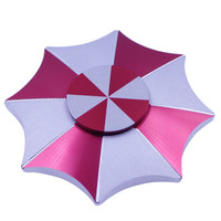The New Style High Quality EDC Resident Evil Protective Umbrella Fidget Hand Spinner Material Finger Gyro
