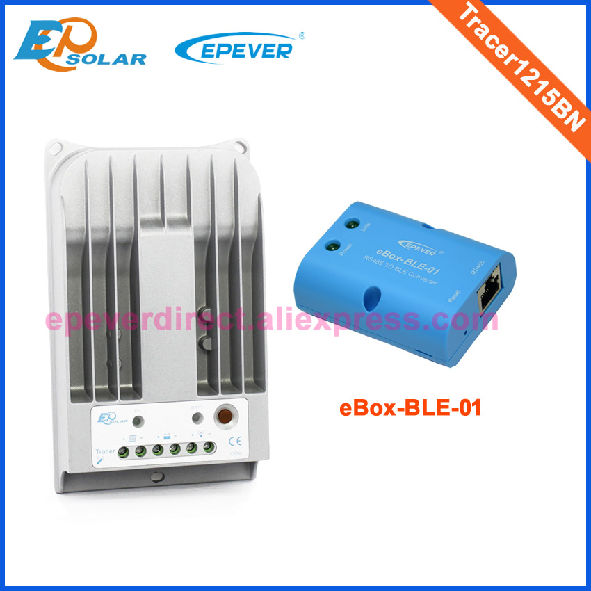 Factory direct supply mppt controller 10A 10amp Tracer1215BN with BLE function 12v 24v auto work