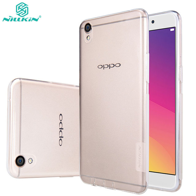wholesale dealer a9ce3 1c63e US $6.19 |Nillkin TPU Case for OPPO F1 Plus Soft Silicon Back cover Ultra  Thin nature Clear Transparent case for OPPO R9 phone shell-in Fitted Cases  ...