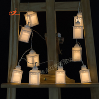 1.65m 10LEDs Unique lantern string lantern Fairy lights for child's home Christmas tree Bar Festival Wedding Party decoration