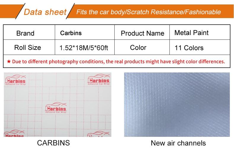 US $450 0 |Carbins Film Metal Paint Ultra Violet Vinyl Car Full Body Wrap  Fashion Sticker on Aliexpress com | Alibaba Group