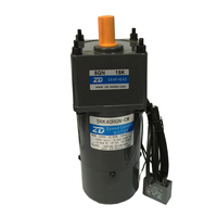 40w 220v motor 5RK40RGN CM single phase with brake with Gear head 180:1 gear motor with speed control