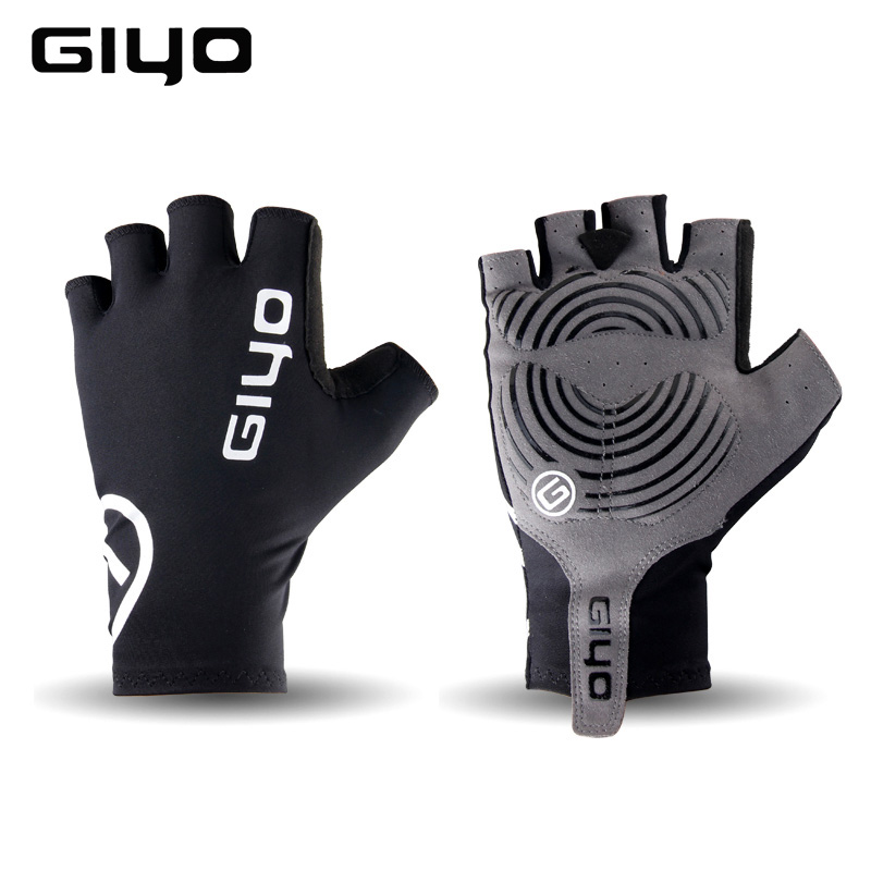Giyo Cycling Gloves Half Finger Gel Sports Racing Bicycle Mittens Women Men Summer Road Bike Gloves MTB Luva Guantes Ciclismo spakct bike cycling men s gloves winter full finger gloves bike bicycle guantes ciclismo racing outdoor sports black new motor