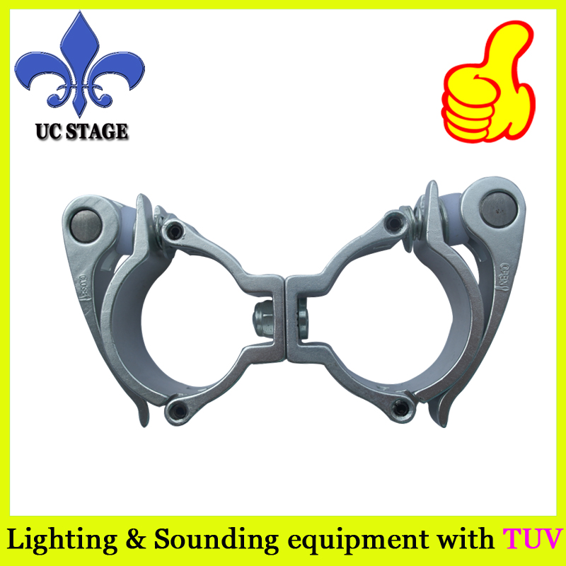 Quick release swivel light clamp/truss clamp for 48-51mm tube