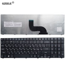 Русская клавиатура GZEELE для ноутбуков Acer Gateway P5WE6 TE69 TE69KB TE69HW LE69KB Q5WPH Q5WT6 BIC50 KJB AUM0R ZYD RU, замена