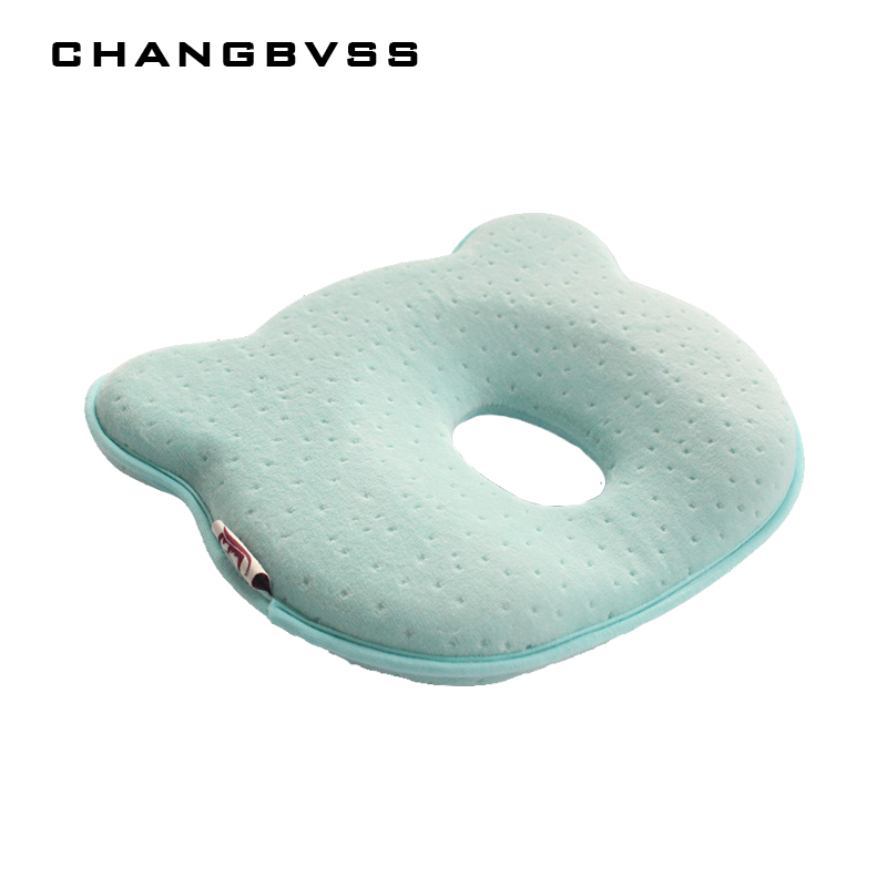 Memory Foam Baby Pillows Breathable Baby Shaping Pillows To Prevent Flat Head Ergonomic Newborns Pillow Almofada Infantil 0~12M