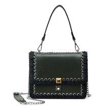 2017 Nueva Primavera Moda Mujeres Messenger Bags Bolsos Mujeres Famosas Marca bolsas Crossbody Bolsos de Cadena Del Bolso de Hombro Bolso de Mano de La Vendimia