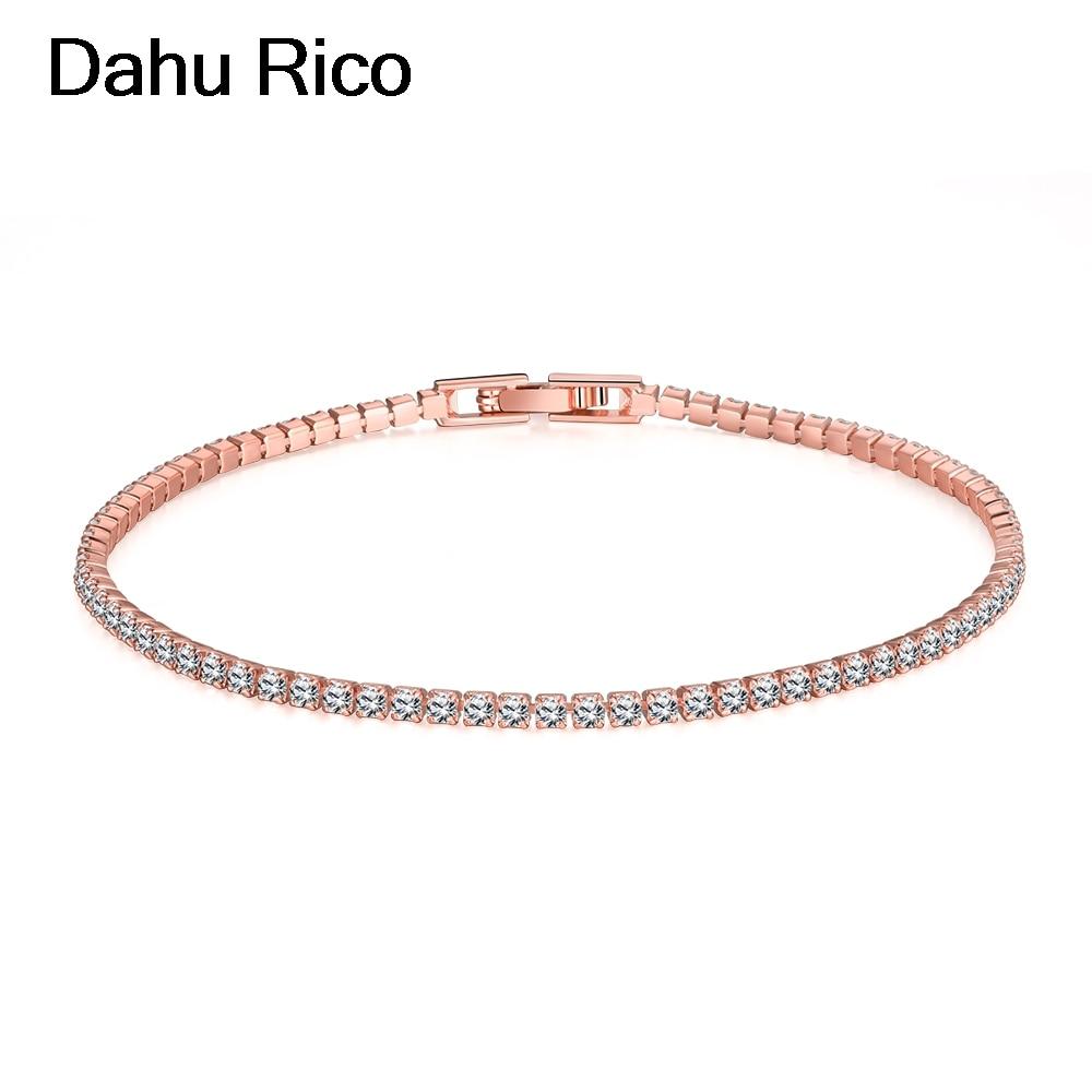 mothers day gift vegan pulseiras feminina braslet armband damen Dahu Rico brand gold plated bracelets