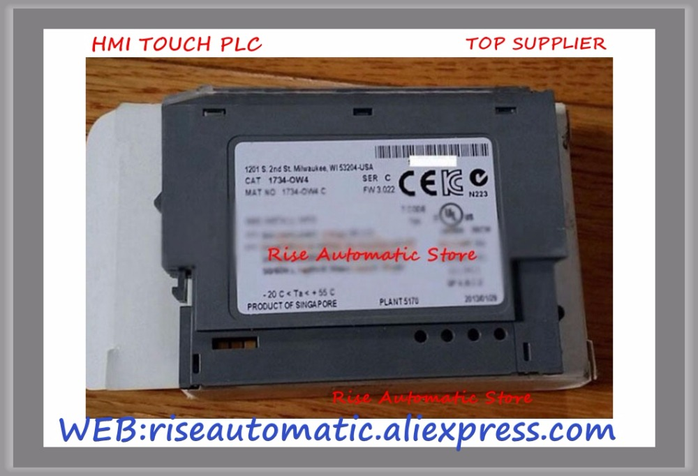 цена на New Original Programmable Controller Module 1734-OW4 PLC 5-28.8VDC 4 Form A N.O. relays