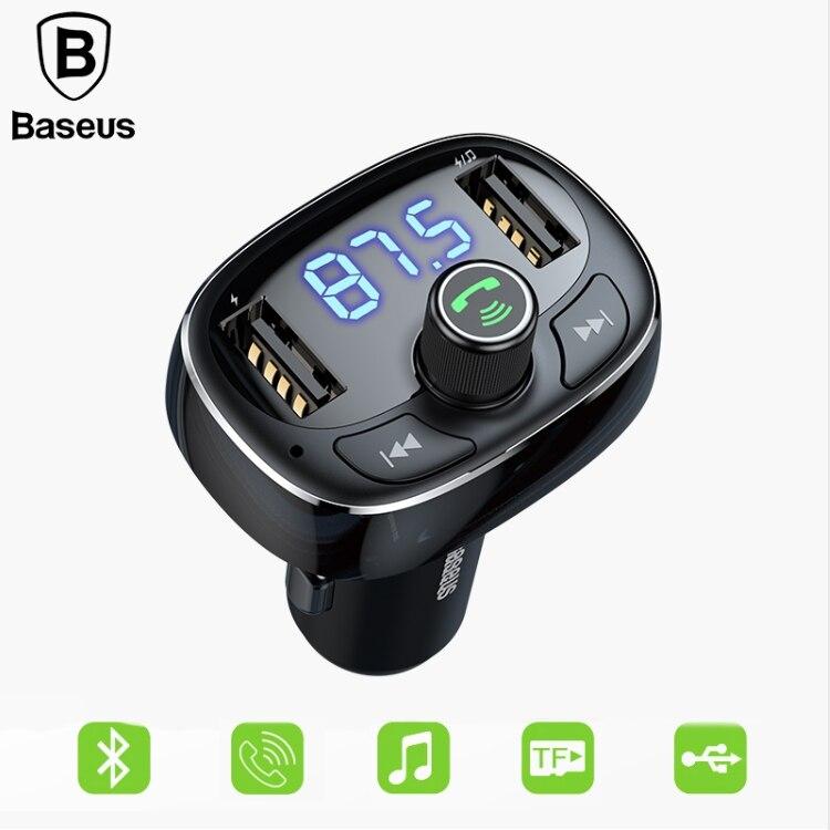 BASEUS FM Transmitter Modulator Bluetooth MP3 Handsfree