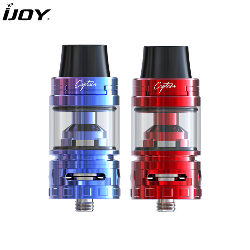 100% Original IJOY Captain S Tank 4ML Electronic Cigarette Atomizer Clearomizer Vapor with CA2 CA3 coil Fit Box MOD