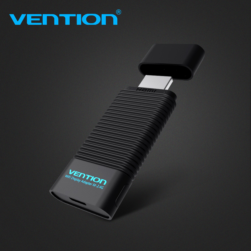 Vention EZCast 2.4G/5G Wireless HDMI WiFi Display Adapter HDMI Dongle Transmitter Receiver Smart TV Stick for IOS Projector цена