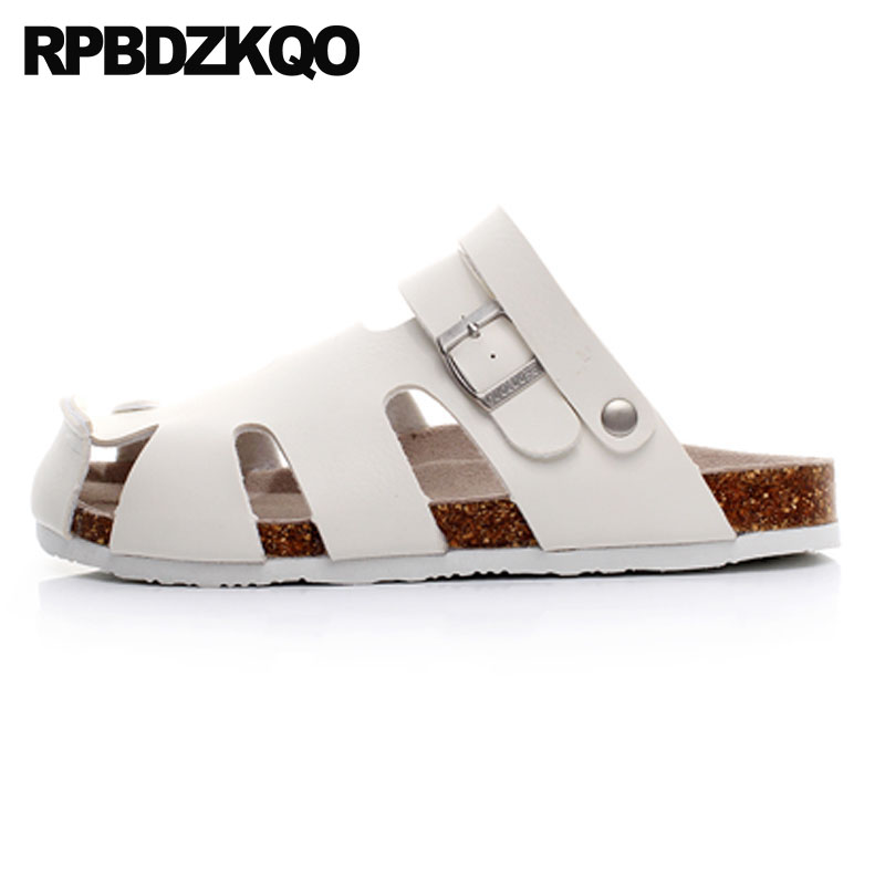 slippers cork slides shoes outdoor