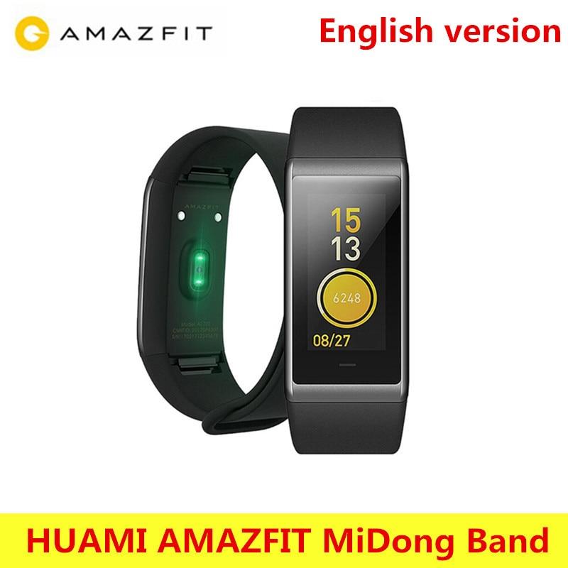 HUAMI AMAZFIT Cor Midong Smartband Bluetooth 4.1 GPS Heart Rate Monitor 50 Meter Waterproof IPS Screen Wristband Smart Bracelet huami amazfit heart rate smartband