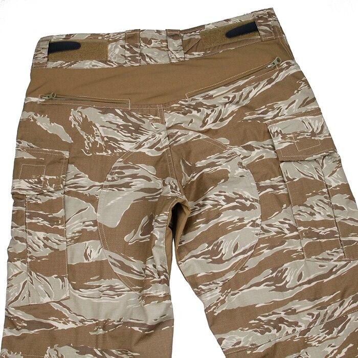 2019 nouveau pantalon tactique SST G3 avec genouillères désert tigre Camouflage pantalon de patrouille tactique - 4