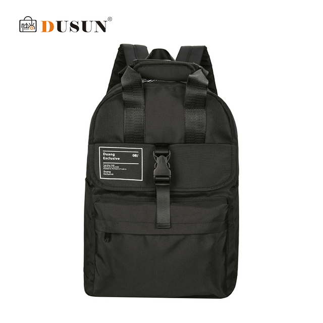 DUSUN Backpack Women Harajuku Korean Large Capacity Female Street Fashion  Male Casual School Shoulder Bags for cd8d9abbf