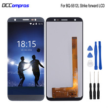 For BQ-5512L STRIKE FORWARD LCD Display Touch Screen Digitizer Replacement For BQ 5512L Phone Parts With Free Tools