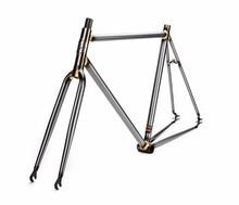 fixed gear Bike frame  4130 Chrome molybdenum steel Copper plated DIY size 46cm 48cm 50 cm 52 56cm 58cm 60cm 62cm