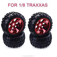 Originele ZD 2 PCS/4 PCS 3.6 Inch 150mm Truck Wielen Velg & Band voor 1/8 Traxxas HSP HPI E-MAXX Savage Flux ZD Racing RC Auto Onderdelen(China)