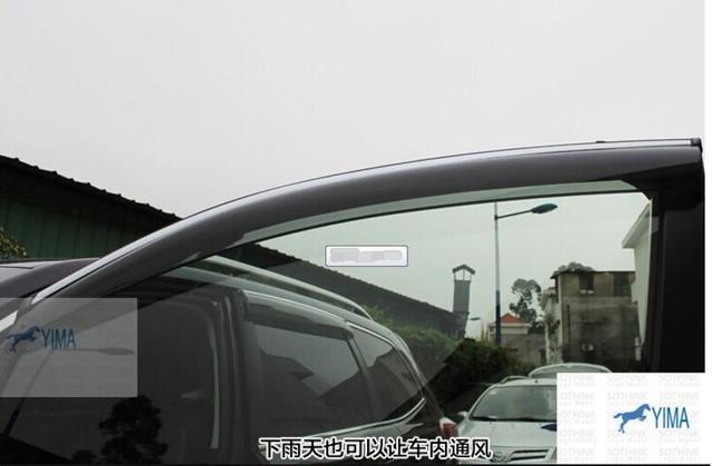 Кузова! 4 Шт. Для Subaru Forester 2013 2014 Окно Ветер Дефлектор Козырек Дождь Гвардии Vent Козырьки Навесы