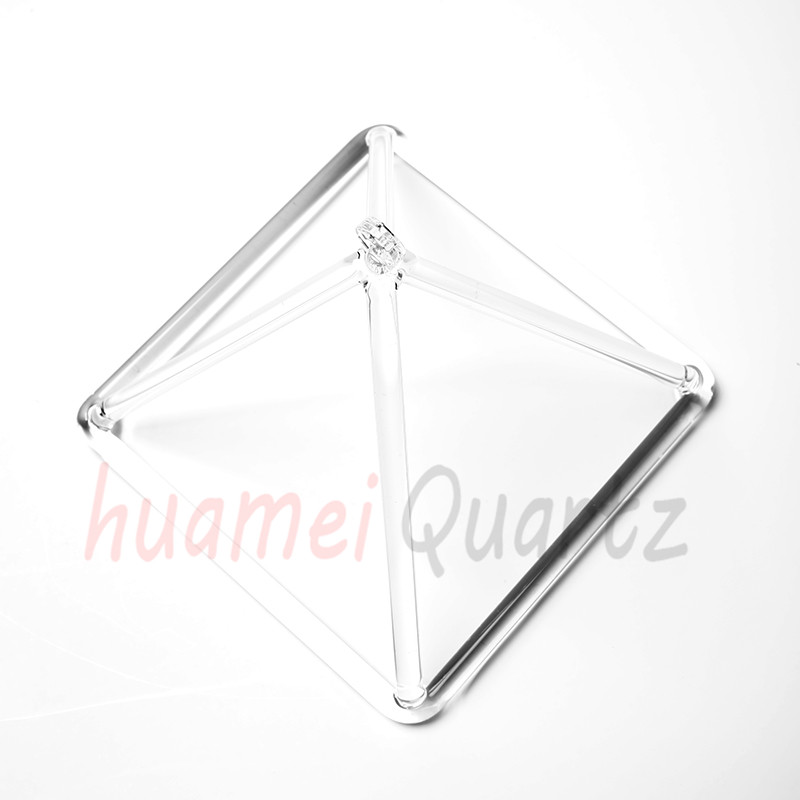5inch and 10 inche quartz clear crystal pyramid for healing цена
