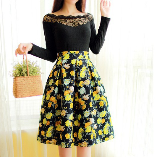 Vintage High Waisted Skirts