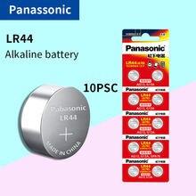 Panasonic baterias de pilhas, baterias de pilhas para calculadoras 0% hg, célula de bateria lr44 a76 ag13 357 hg sr1154 1.5 lr 44 0% v