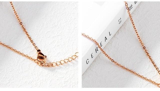 Купить модные ожерелья золотого цвета в форме сердца для женщин с подвесками картинки