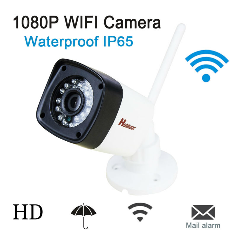 IP Camera WiFi 1080P ONVIF Wireless Camara Video Surveillance HD IR Night Vision Mini Outdoor P2P Security Camera CCTV System hd bullet outdoor mini waterproof cctv camera 1200tvl ir cut night vision camara video surveillance security camera