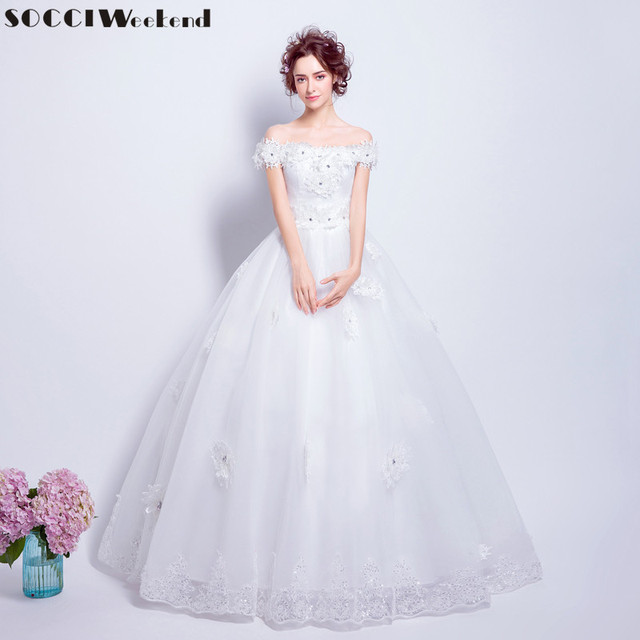 socci weekend slim princess wedding dresses 2017 marriage