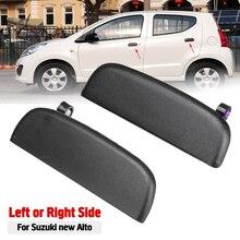 Наружные дверные ручки автомобиля Передняя Задняя внешняя дверь ручка для открытия наружных дверей Ручка Левая Правая черная для Suzuki New Alto