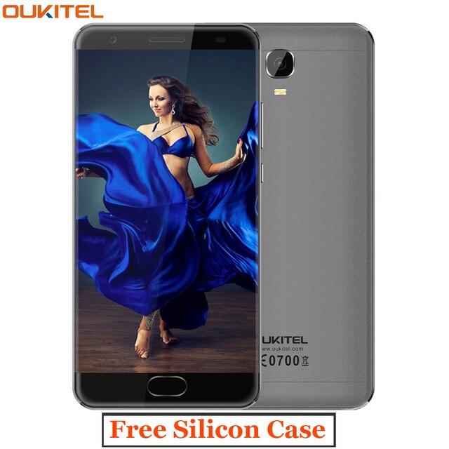 "Oukitel K6000 PLUS 4G Screen 6080mAh Smartphone 12V/2A Octa Core 5.5"" FHD 16MP MTK6750T 4G RAM 64G ROM 4G Free Gift Mobile Phone"
