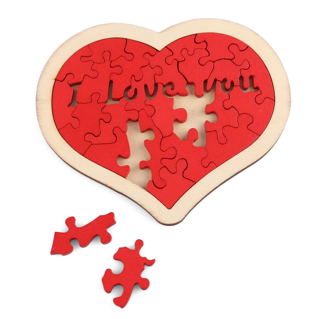 New Arrival Love Heart Pattern Jigsaw Puzzle Set Children Development And Education Toys Jigsaw Puzzles For Children Adults