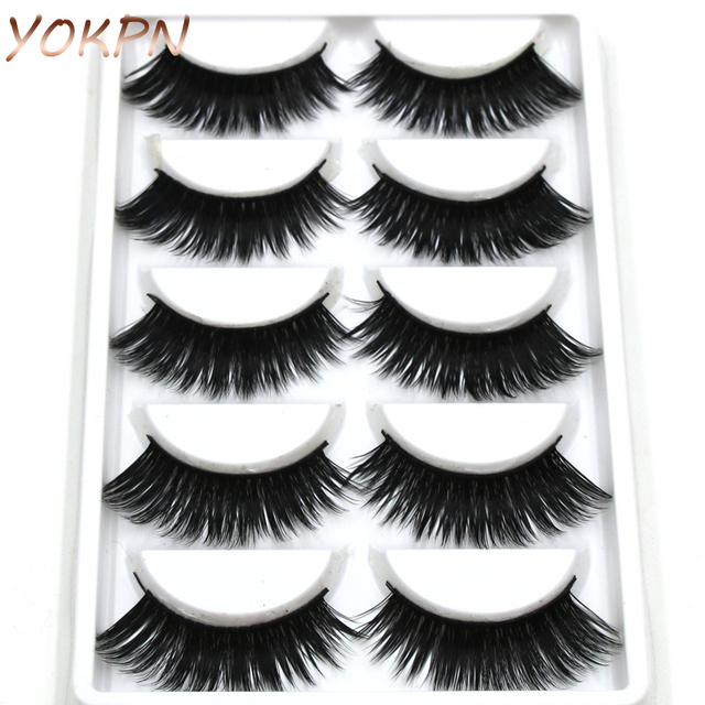 YOKPN Cross Lashes Makeup Tools Eye Lashes