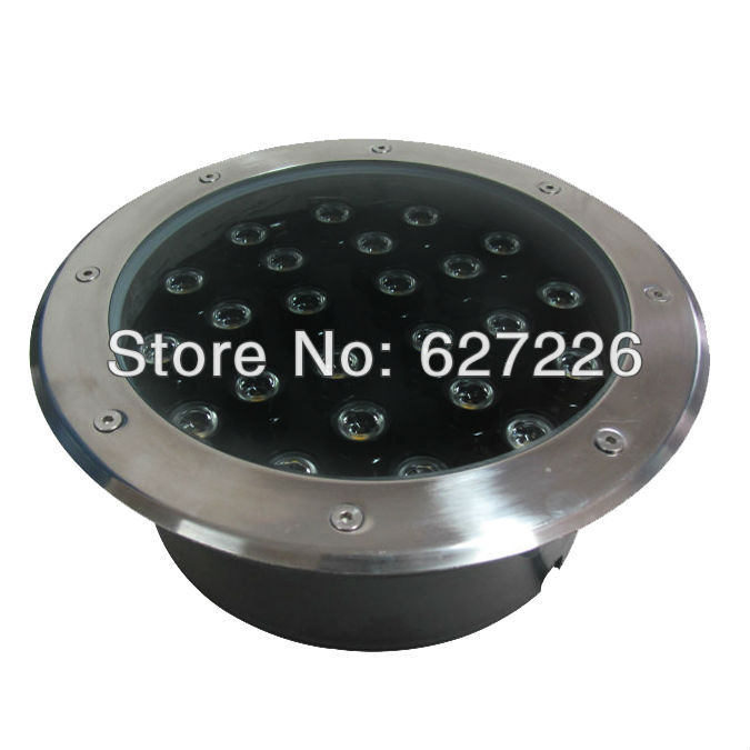 Direct Selling 24W LED underground lamp AC85-265V IP68 waterproof 3 years warranty CE ROHS outdoor Spotlight 20pcs 100w led floodlight lamp ac85 265v outdoor led spotlight 120 beam angle 3 years warranty free shipping