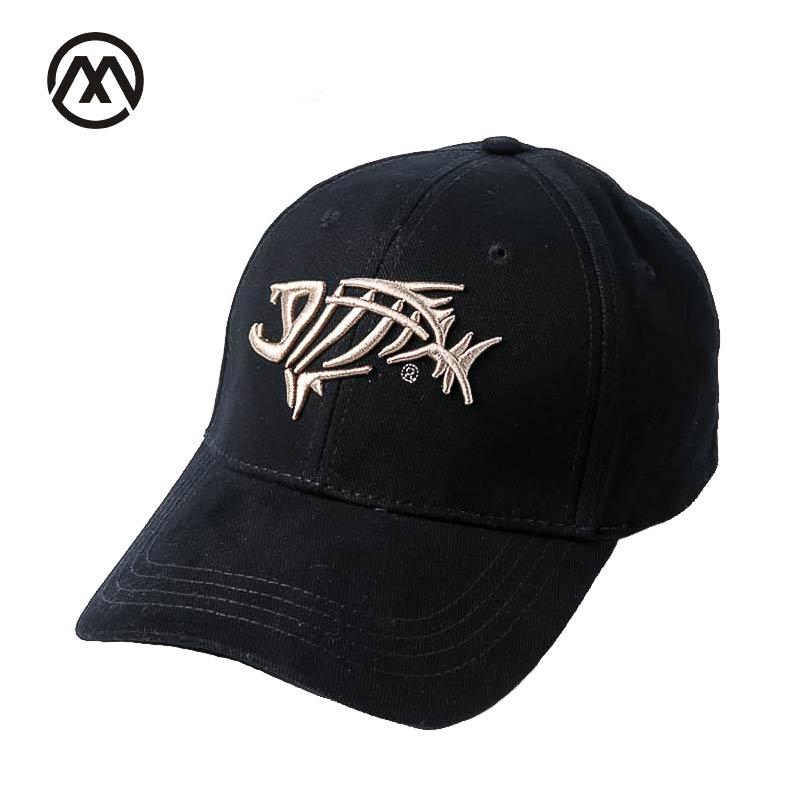 Outdoor Fishing Hats Men's Sun Hat Breathable Adjustable Hat Fishing Hook High Quality Fashion   Baseball     Cap   Casual Brand bone