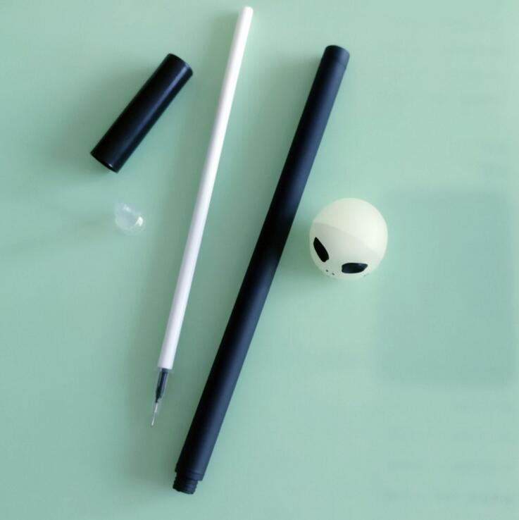 """""""Clowing in the Dark"""" Skull Gel Pens 3"""