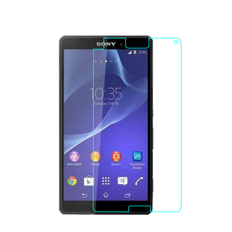 For Sony Xperia Z3 compact Z3 mini Premium Tempered Glass Screen Protector Ultra Thin Clear Explosion-proof Protective Film