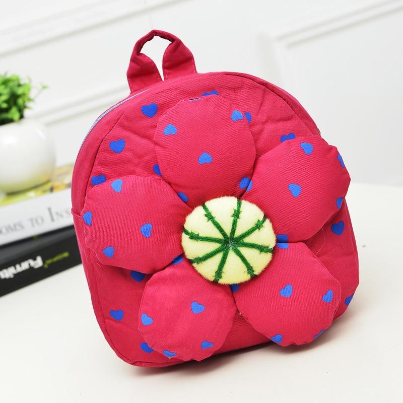 2015 mochila escuela nueva Kids Bag flor forma de de bolsos la 0r0gnHwxv