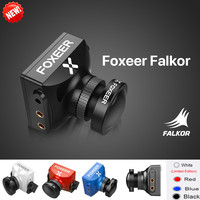 New Arrival Foxeer Falkor FPV Camera 1200TVL CMOS 1/3 4:3 16:9 PAL/NTSC Switchable G WDR DC5 40V for RC Multirotor Racing Drone